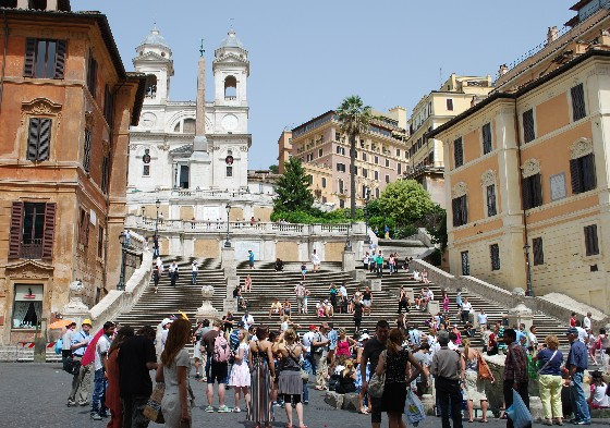 Rome Piazza di Spagna Spanish Steps (www.free-city-guides.com)