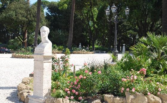 Rome Pincio Gardens (www.free-city-guides.com)