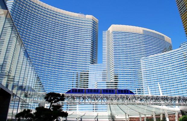 Las Vegas Aria Tram new
