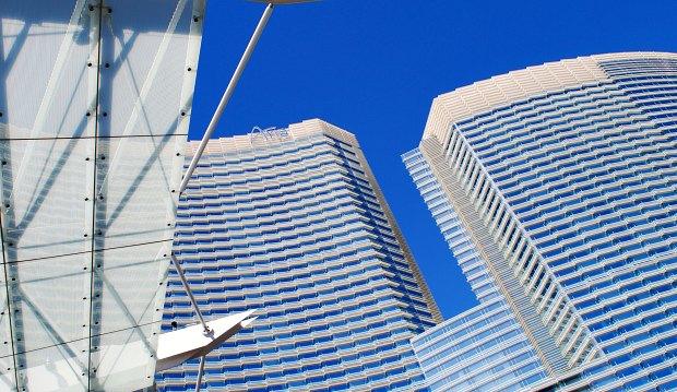 Las Vegas Aria towers