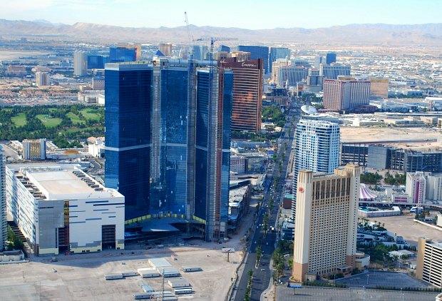 Las Vegas Stratosphere view