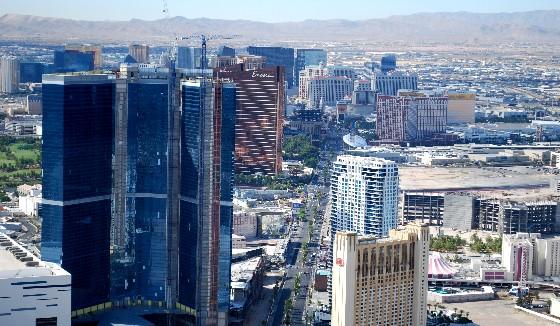 Stratosphere Las Vegas. The view of the Las Vegas