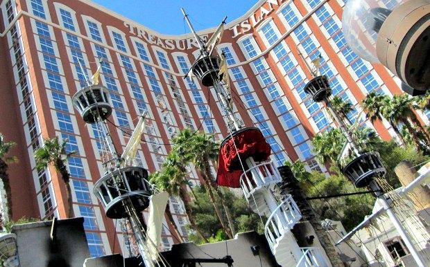 Las Vegas Treasure Island exterior