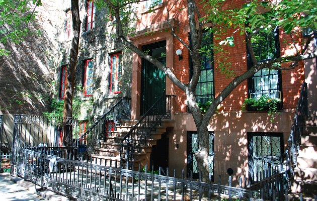 New York Greenwich Village Town Houses