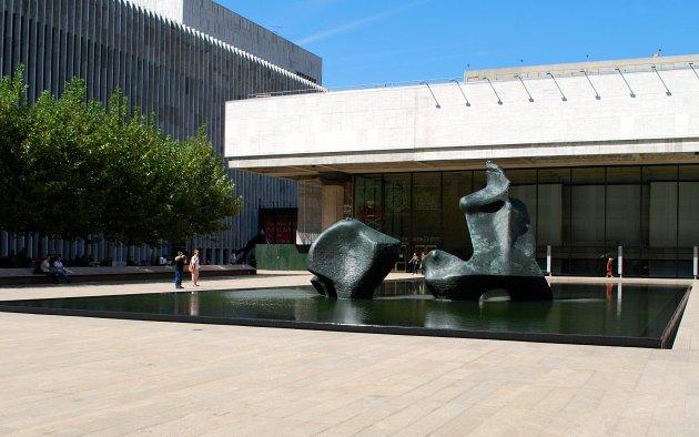 New York Lincoln Center Sculpture