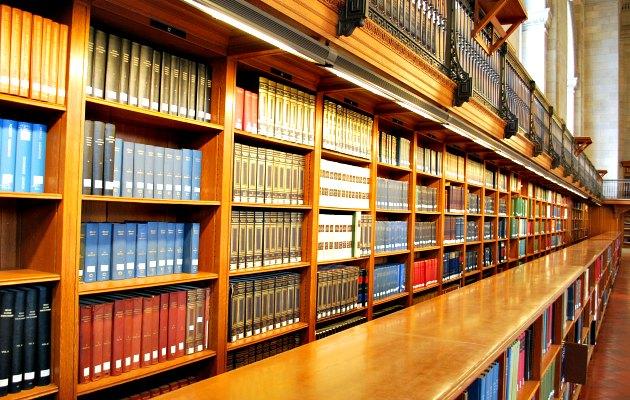 New York Public Library Book Shelf