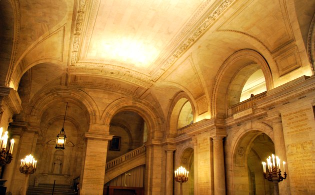 New York Public Library Foyer