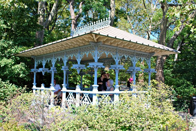New York Central Park Victorian Pavilion as seen in Sex And The City