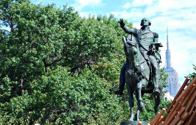 New York Union Square Statue