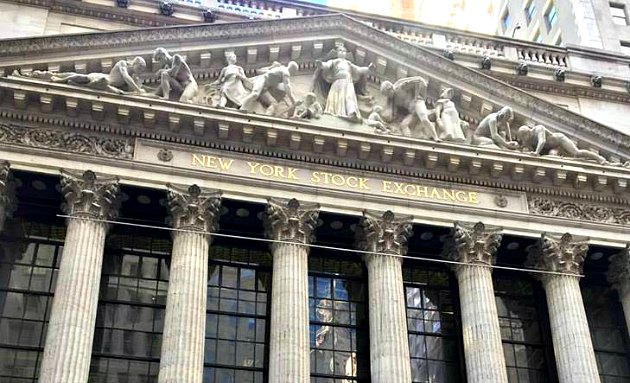 New York Wall Street Stock Exchange