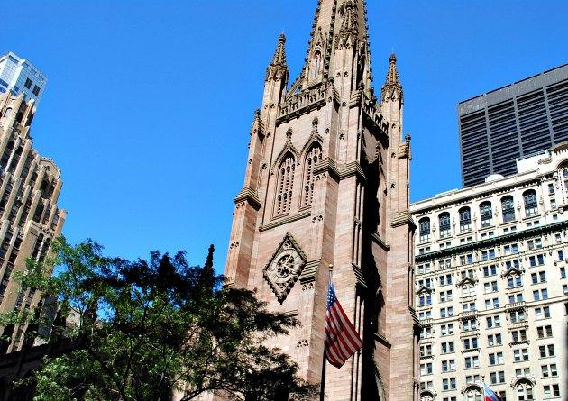 New York Wall Street Trinity Church