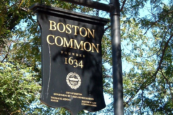 Boston Common Sign (www.free-city-guides.com)