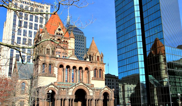 Boston Copley Square Trinity Church