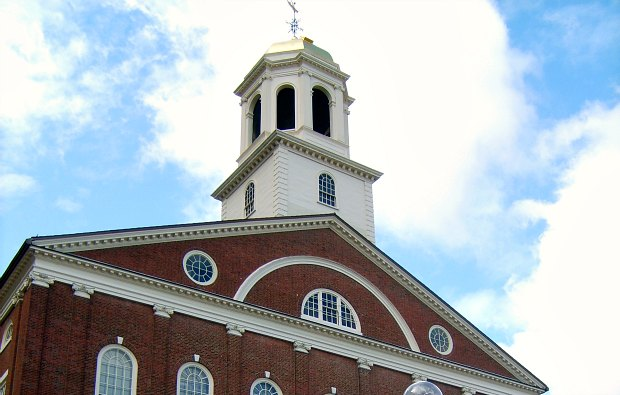 Boston Faneuil Hall upper