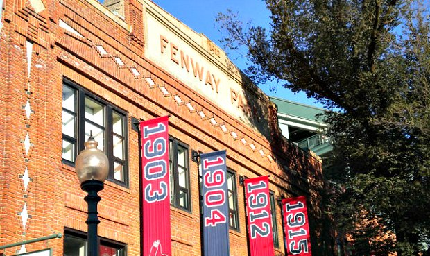 Boston Fenway Park Outside