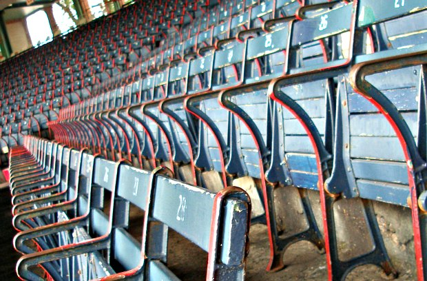 Boston Fenway Park seats