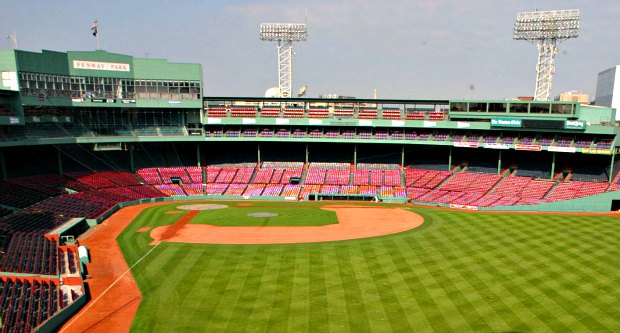 Boston Fenway Park tour