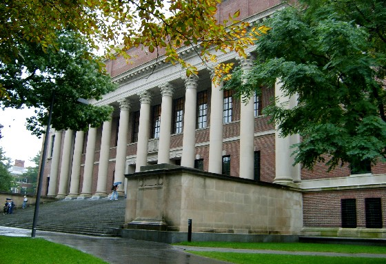 Boston Harvard Campus Widener Library (www.free-city-guides.com)