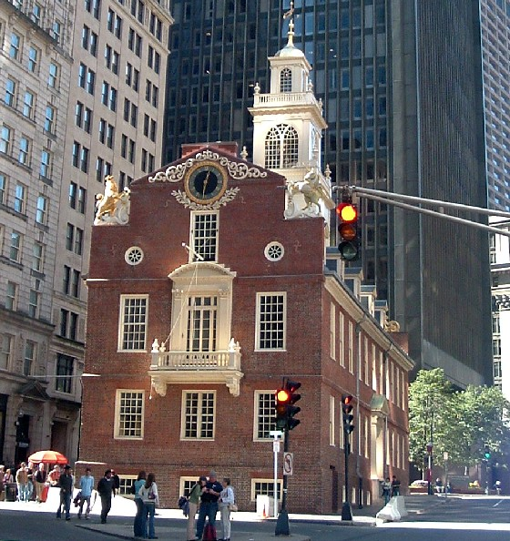 Boston Old State House Front