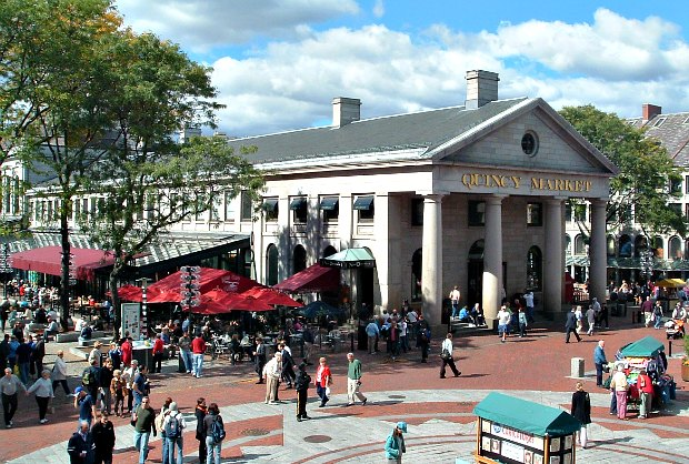 Quincy Market Boston Opening Times What To See