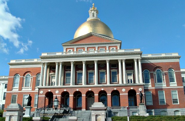 Boston new state house wide