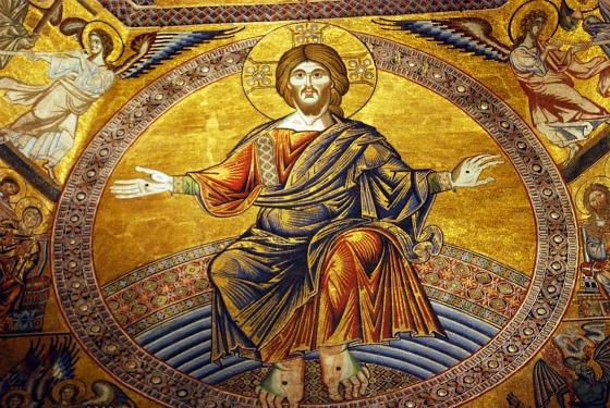 Duomo Baptistry ceiling jesus (www.free-city-guides.com)