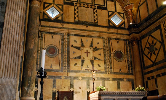 Florence Duomo Baptistry Altar (www.free-city-guides.com)