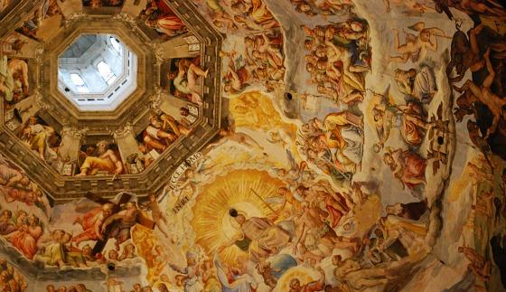 Florence Duomo ceiling wide (www.free-city-guides.com)
