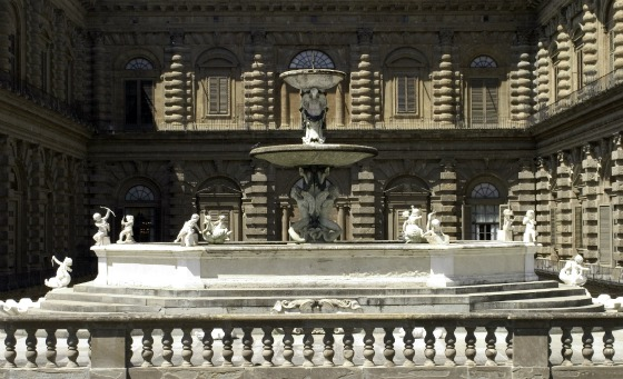 Florence Boboli Gardens Fountain by Adrian Boughey