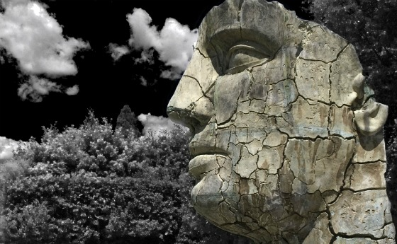 Florence Boboli Gardens Head by Adrian Boughey