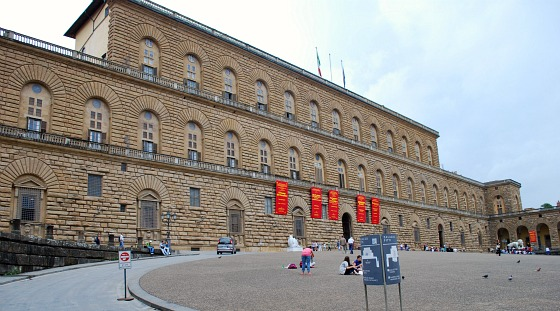 Florence Palazzo Pitti Exterior (www.free-city-guides.com)