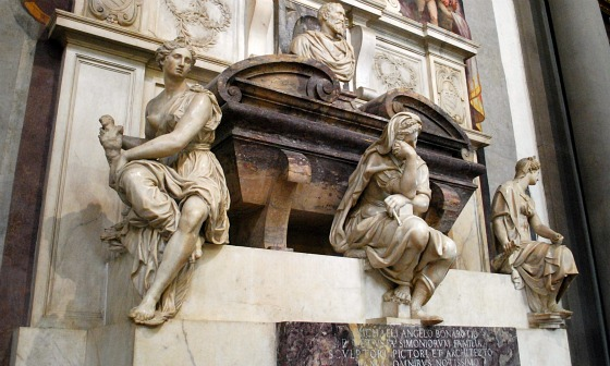 Florence Santa Croce Michelangelo Tomb (www.free-city-guides.com)