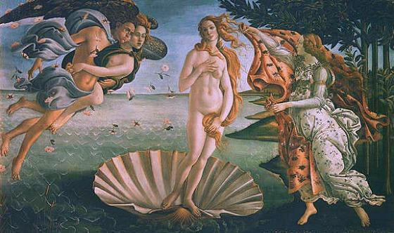Florence Uffizi Botticelli Birth of Venus (www.free-city-guides.com)