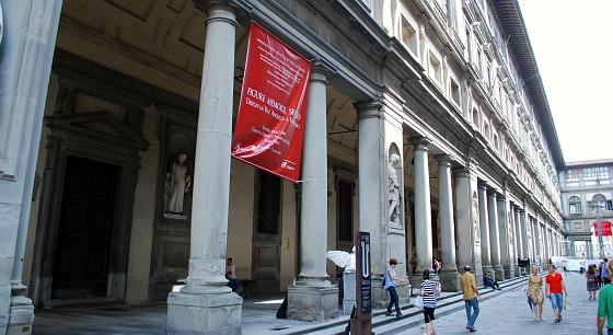 Florence Uffizi Gallery external (www.free-city-guides.com)