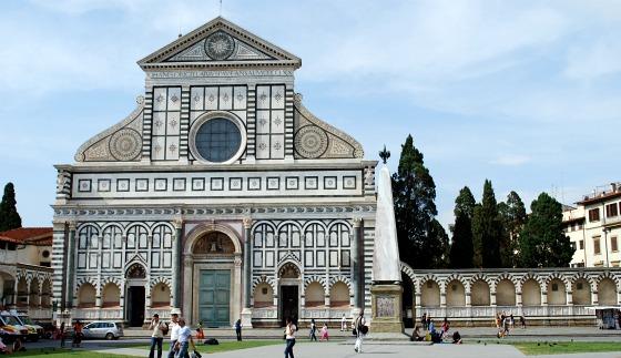 Florence Santa Maria Novella front (www.free-city-guides.com)