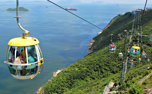 Hong Kong Ocean Park Cable Cars