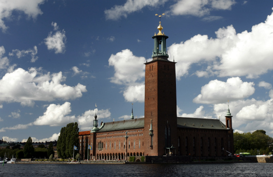 Stockholm City Hall Clouds Yanan Li cropped