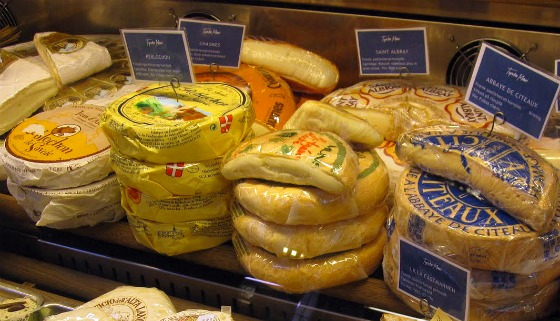 Stockholm Ostermalm Food Hall Cheese