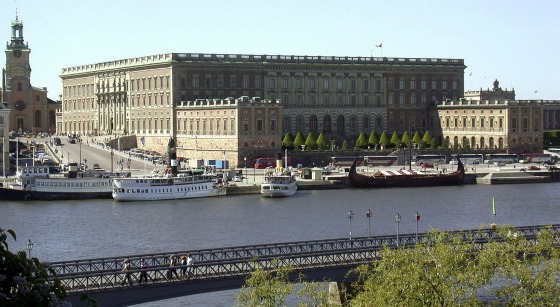 The Royal Palace extrior, Stockholm