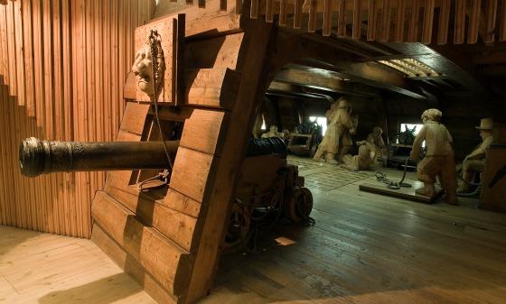 Stockholm Vasa Museum Gun Deck