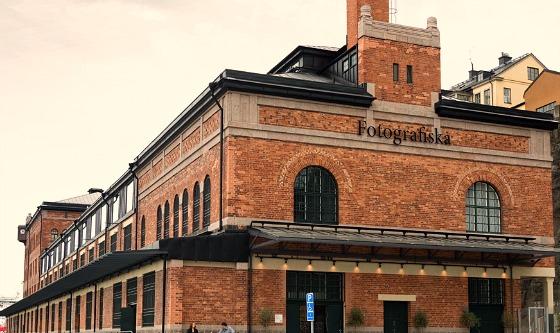 Stockholm fotografiska outside