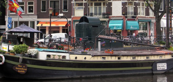 Amsterdam Houseboat Museum wide