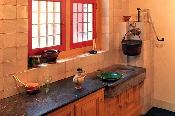 Amsterdam Rembrandt House Kitchen