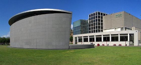 Amsterdam Van Gogh Museum exterior
