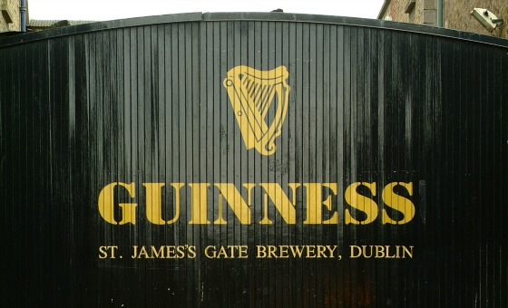 Guinness Storehouse gates