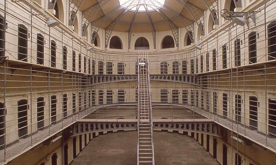Kilmainham Gaol interior - prison cells