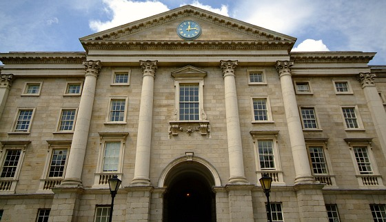 Trinity College - Front View