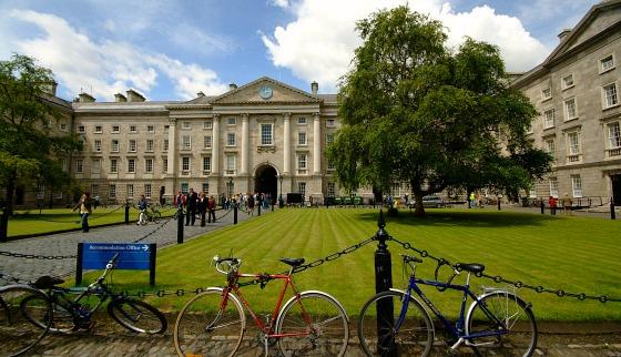 Trinity College - Front Square
