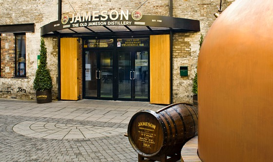 Old Jameson Distillery Entry