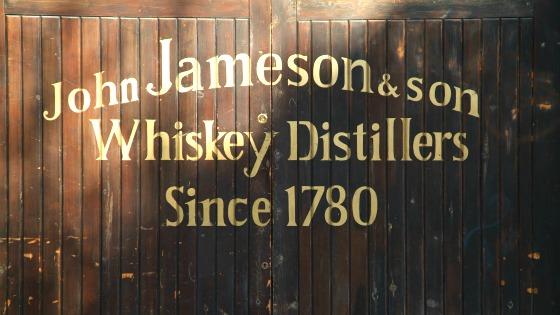 Old Jameson Distillery Gate